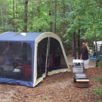 spacious tent sites