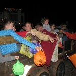 Hayride Trick-or-treating